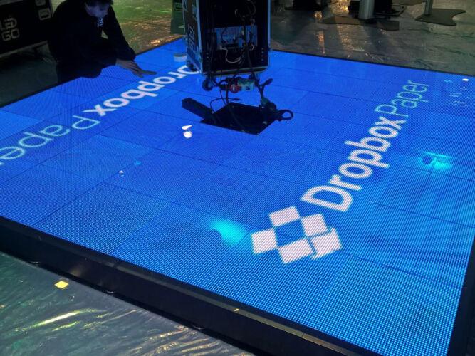 Digitale beursvloer voor Dropbox